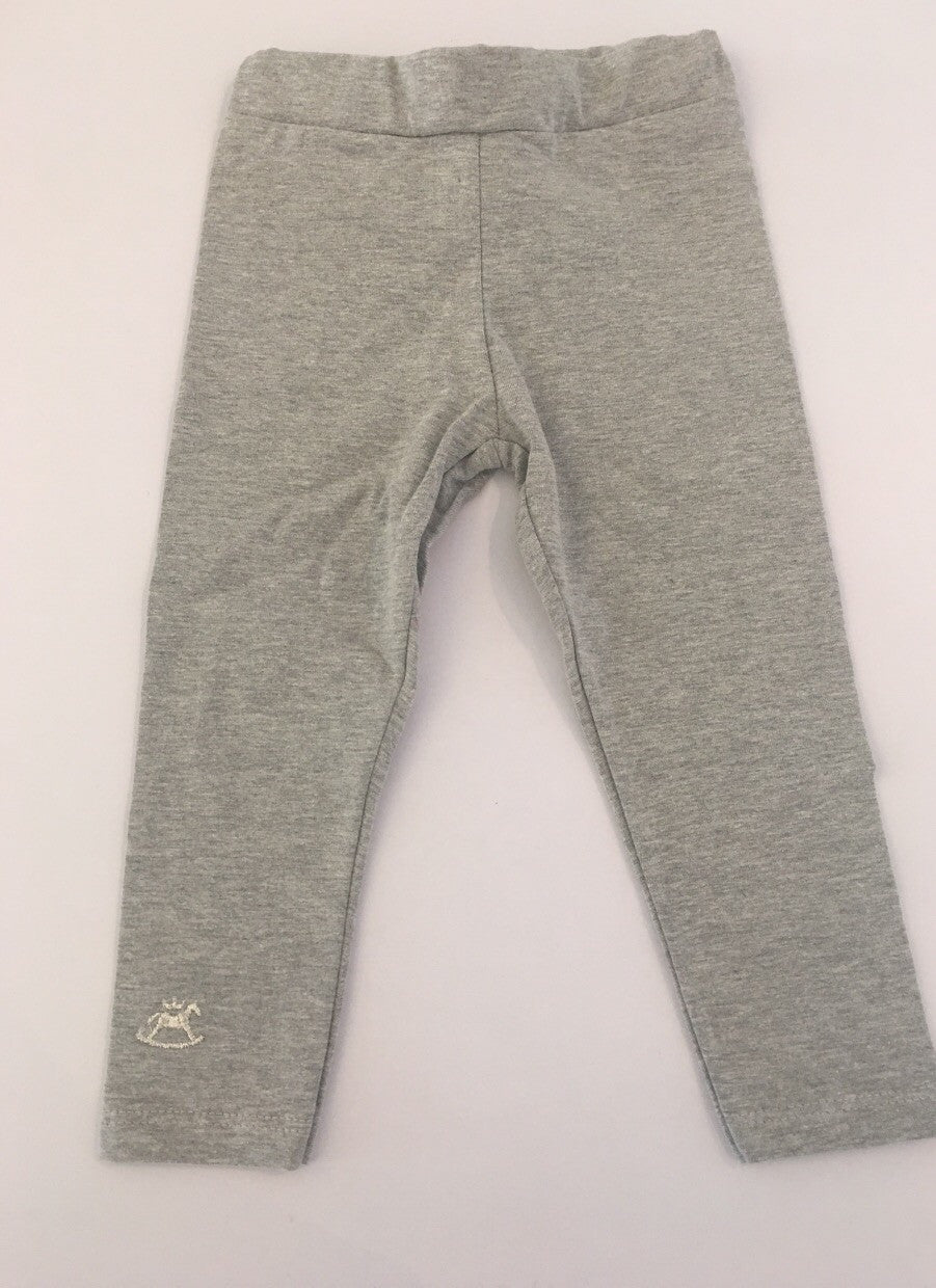 UP Baby Solid Grey Leggings Pants SALE