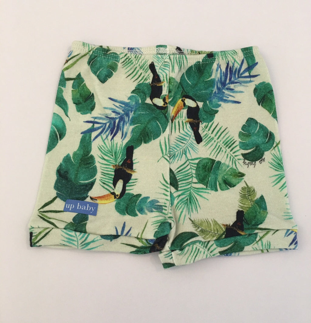 UP Baby Toucan Jungle Print Shorts SALE