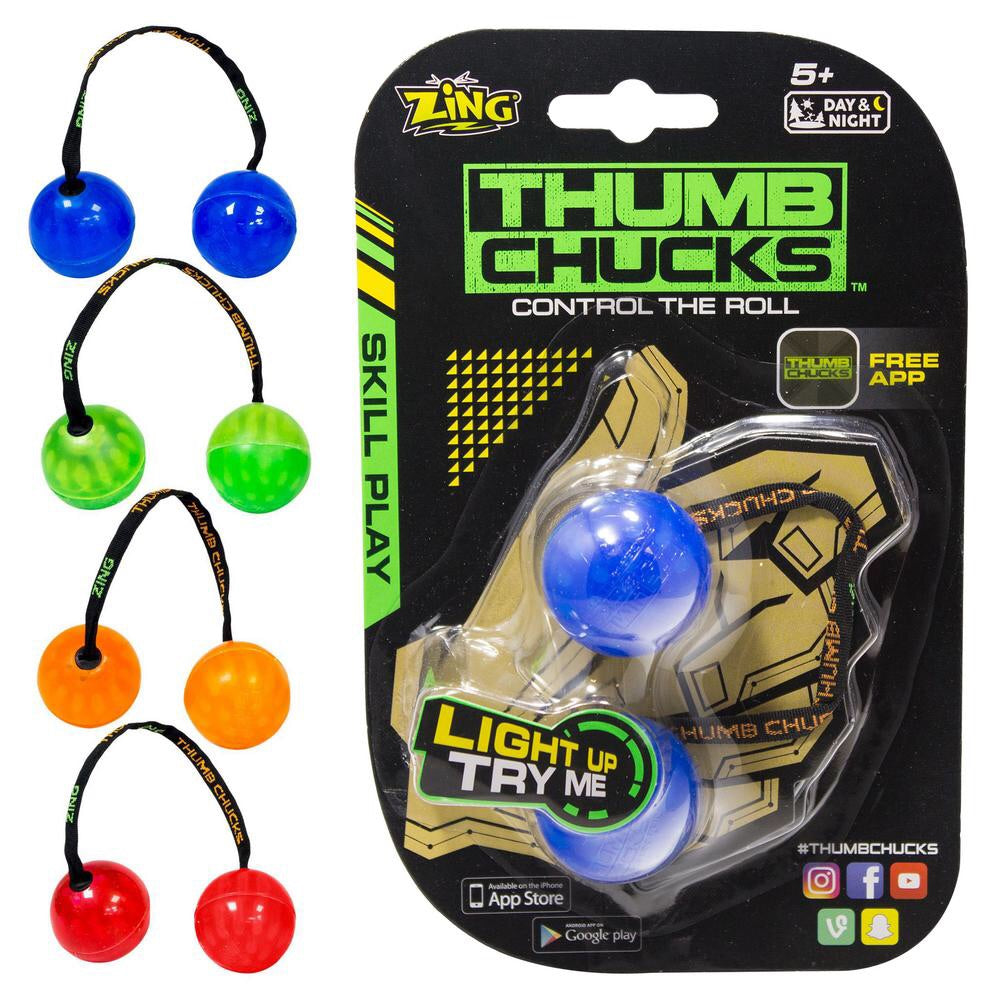 Thumb Chucks - Light Up Hand Skill Play Toy