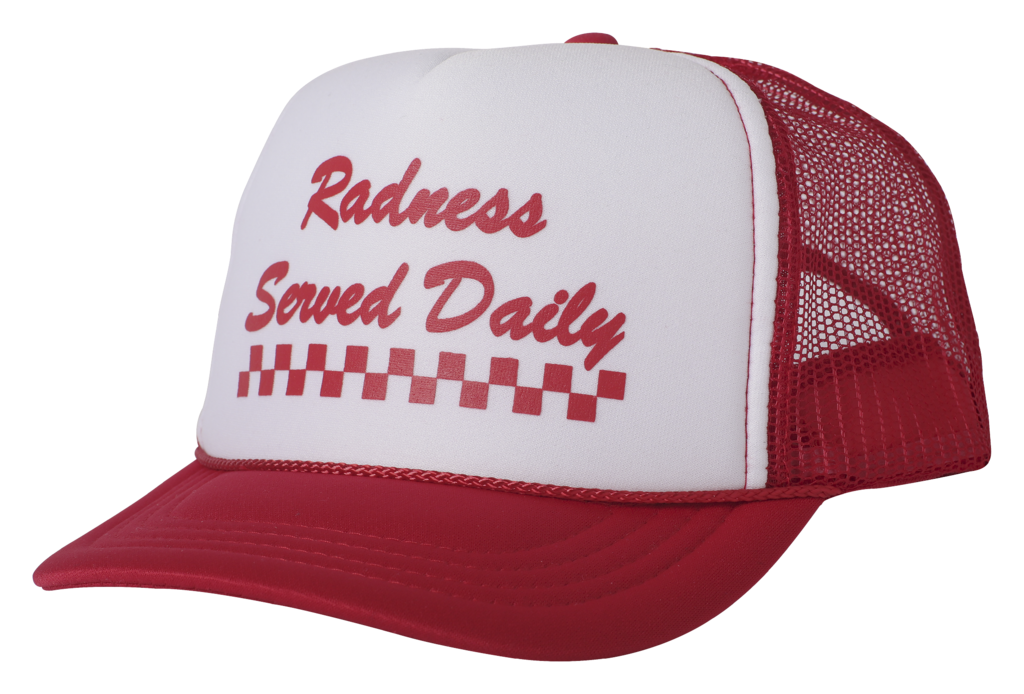 Tiny Whales Radness Served Daily Trucker Hat Unisex