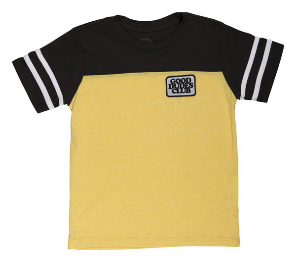 Tiny Whales Good Dudes Club Football Patch Tee