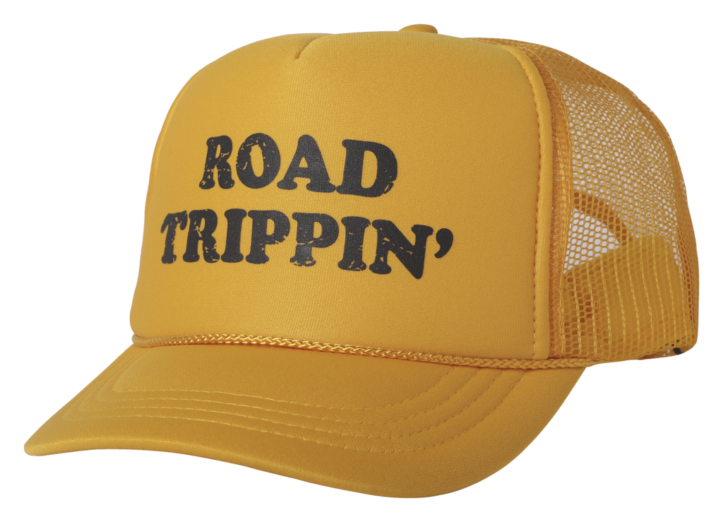 Tiny Whales Road Trippin Trucker Hat