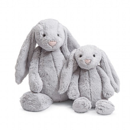 jellycat bashful bunny grey lovie lovey newborn baby gift