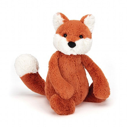 jellycat bashful fox cub lovey lovie stuffed animal newborn baby gift soft snuggles