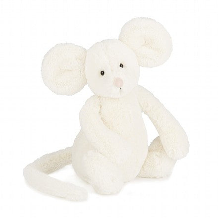 jellycat medium bashful mouse stuffed animal lovey gift
