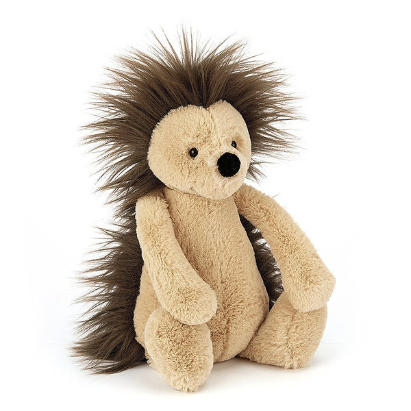jellycat medium bashful hedgehog stuffed animal lovey