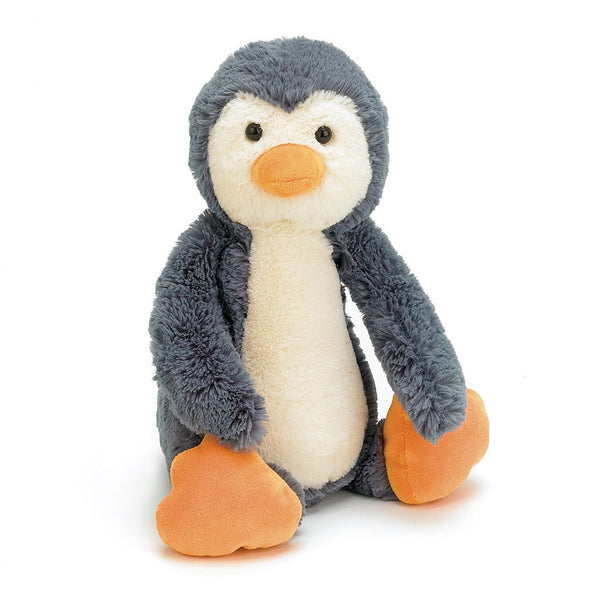 jellycat penguin medium bashful lovey stuffed animal baby gift