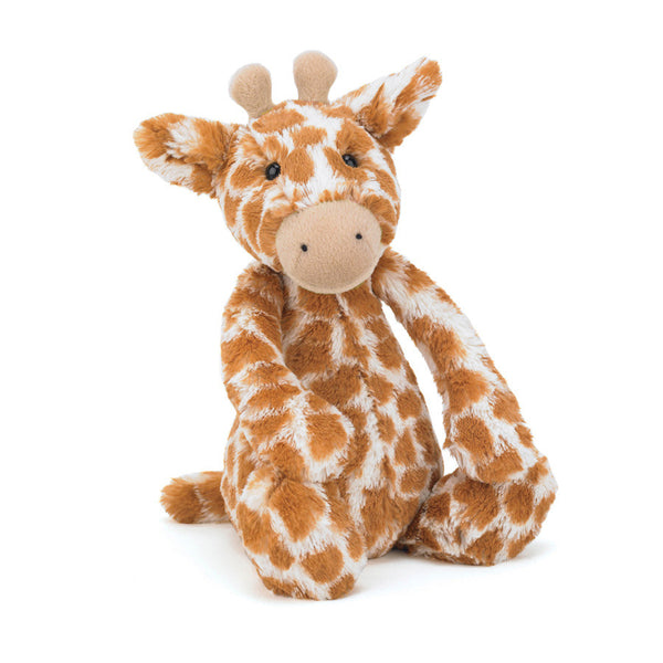 jellycat bashful giraffe stuffed animal lovey toy gift