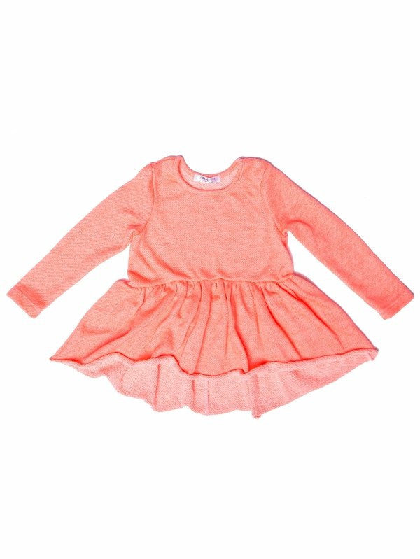 Joah Love Elle Terry Top Neon Pink