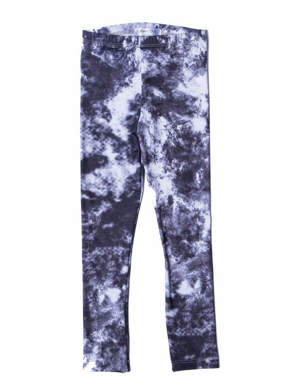joah love asphalt tye dye leggings pants unisex