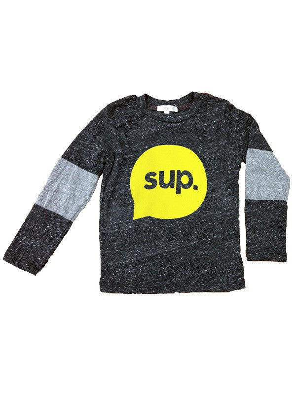 Joah Love Amos Sup' Neon Heather Long Sleeved Tee