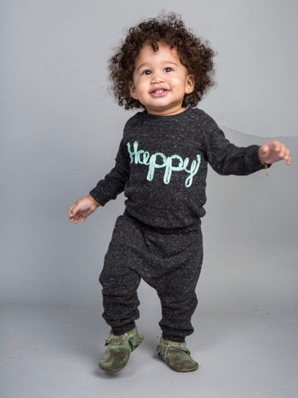 JOAH LOVE WALLACE HAPPY CASHMERE SET AMERICAN MADE BABY CLOTHING