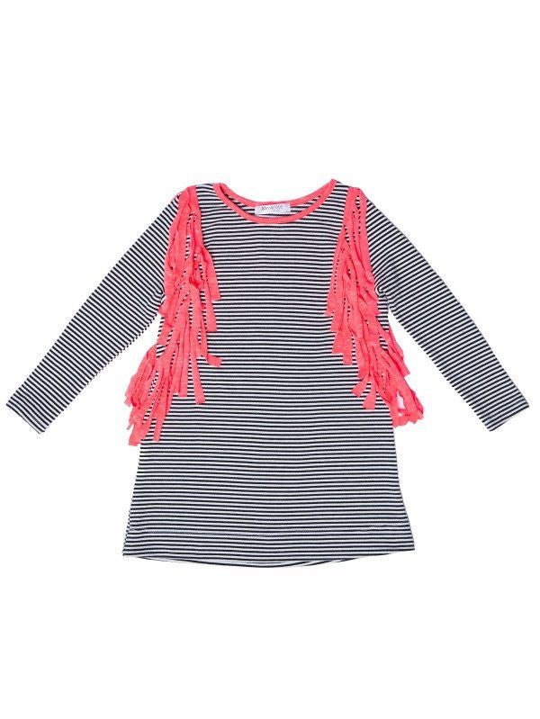 joah love fringe tunic top made in america kids clothes
