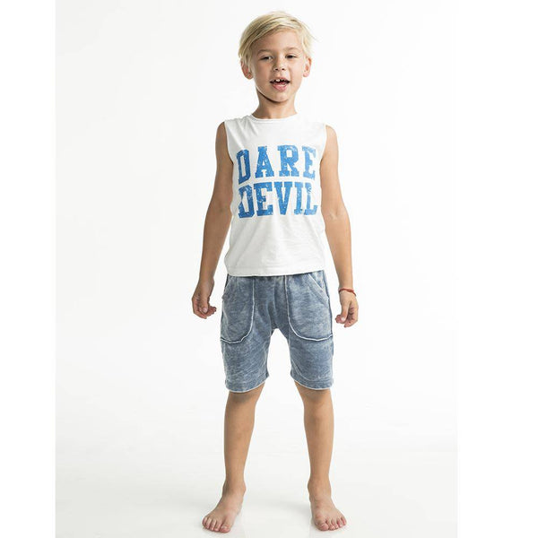 Joah Love Muscle Dare Devil Printed Tank