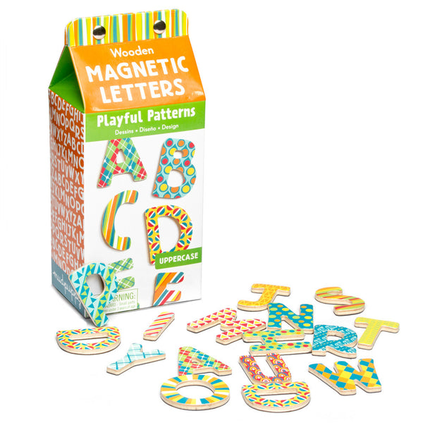 Mudpuppy Letters Boxed Magnets