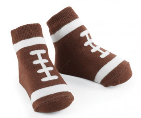 SALE Mud Pie Infant Football Socks