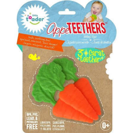 Little Toader Carrot Teether