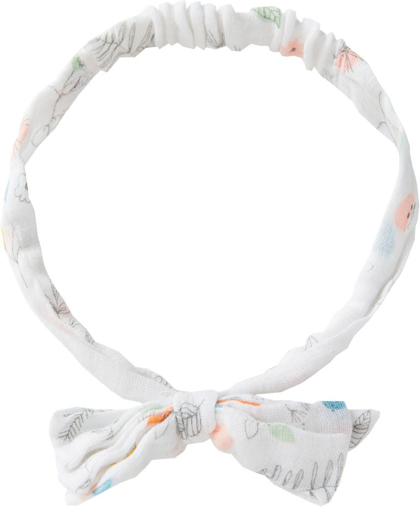 Angel Dear Pretty Foliage Muslin Headband