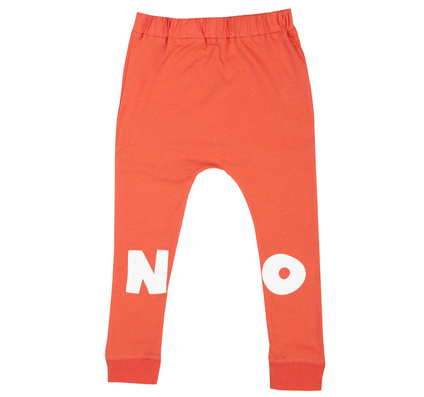 SALE Wakamono Organic NO Leggings Pants ORANGE
