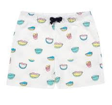 SALE- Wakamono Organic Brenda Mouth Print  Short