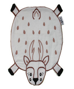 Young & Free Apparel Dribble Droolers Deer Burp Cloth