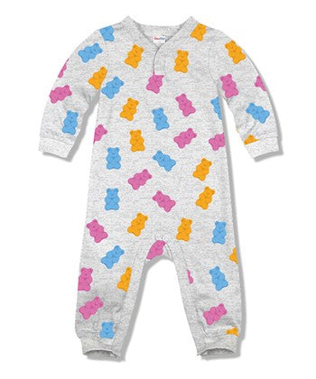 gummy bear infant baby toddler romper onesie jumpsuit printed