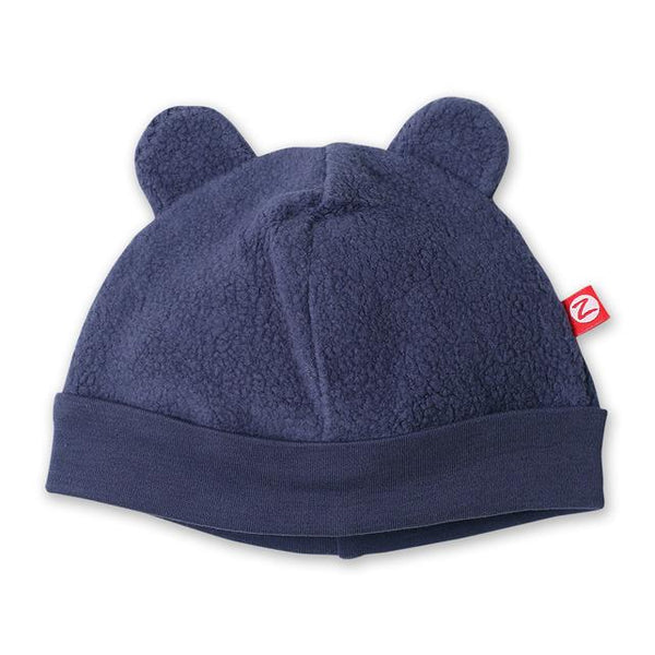 Zutano Fleece cozy classic teddy bear ear hat winter warm infant newborn baby hat