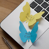 Write notes and reminders onto the butterfly shaped notes and stick onto your laptop.