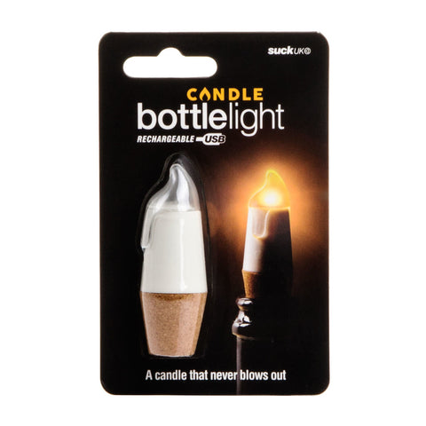 Candle Bottle Light