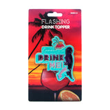 Flashing Drink Topper