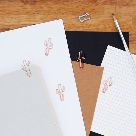 Cacti Paper Clips