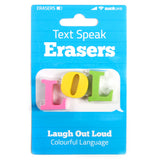 Text Speak Erasers