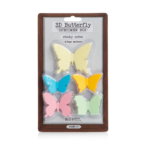 Butterfly Sticky Note Multi Pack