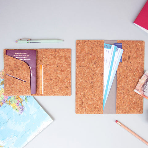 Cork Passport Holders