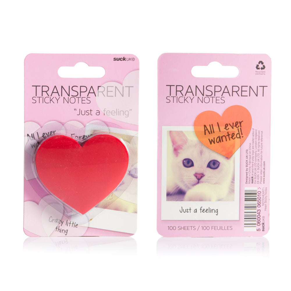 Transparent Sticky Notes