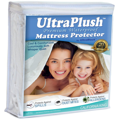 UltraPlush™ Mattress Protector Cal King Size
