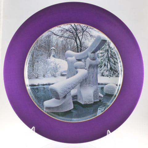 "Charger Plate - ""Portal Rest - Winter"""