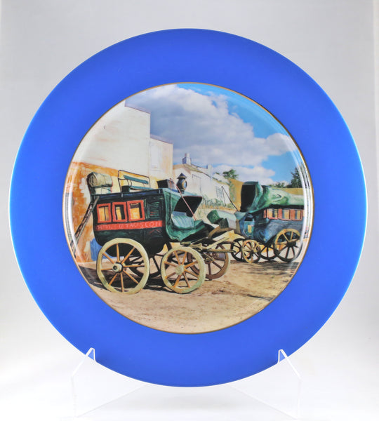 "Charger Plate - ""Designated Coachman"""
