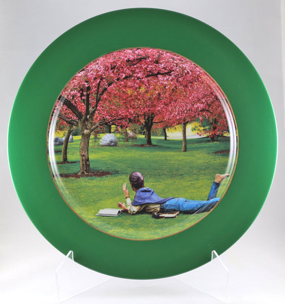 "Charger Plate -""Summer Thinking"""