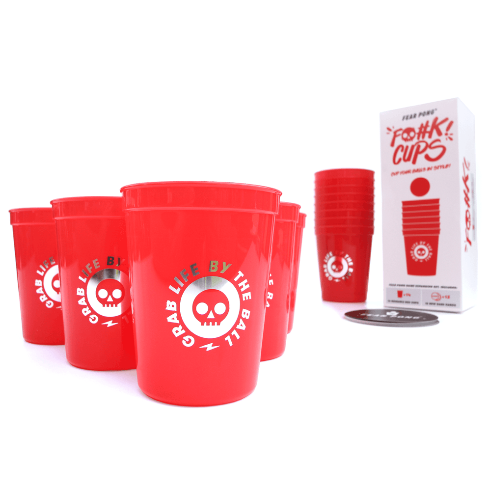 Fear Pong: F@#K Cups