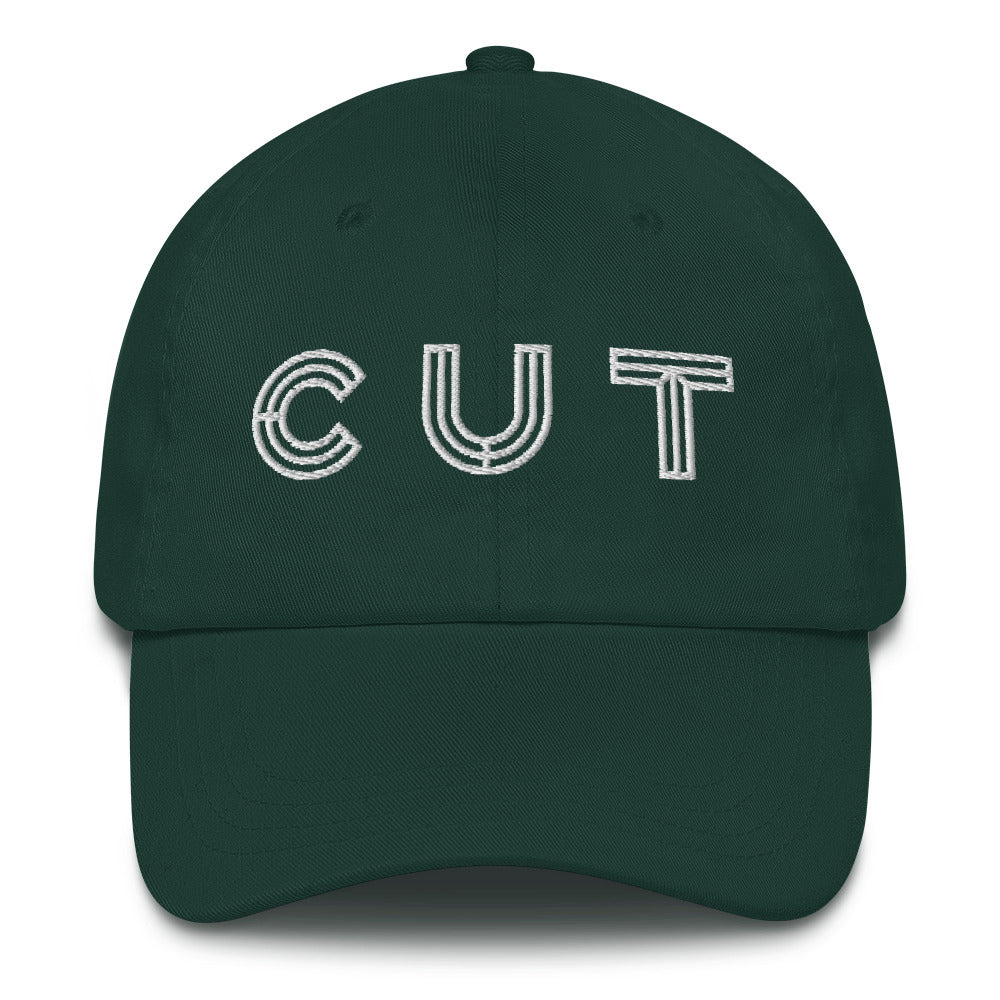 Full Cut Logo Dad Cap