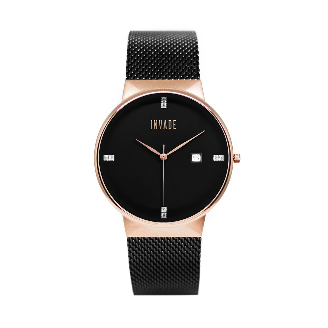 Vault - Black/Rose Gold