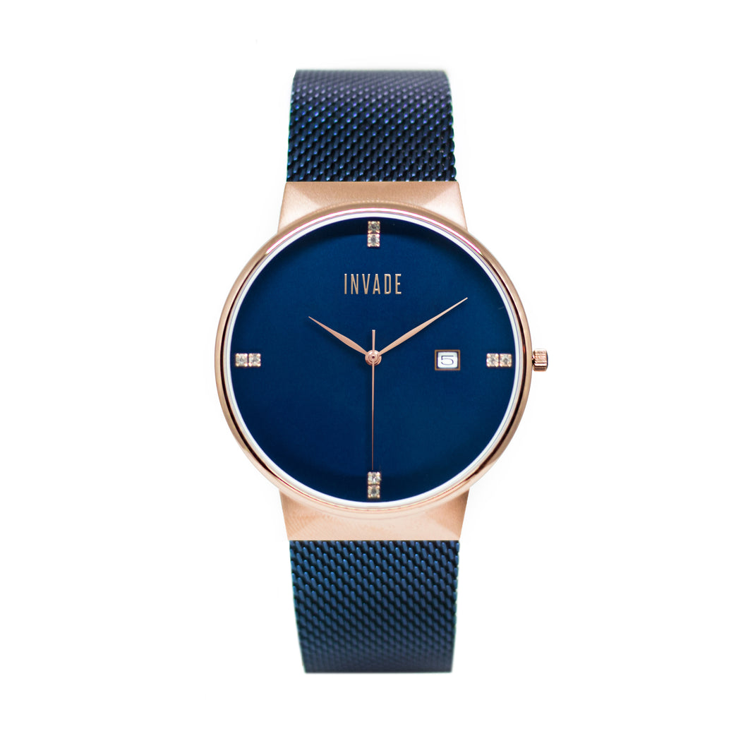 Vault - Blue/Rose Gold