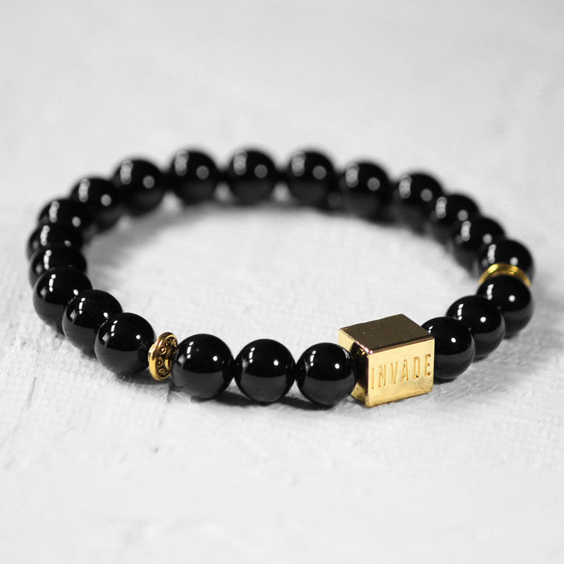Jet Black - Gold (Spacers)