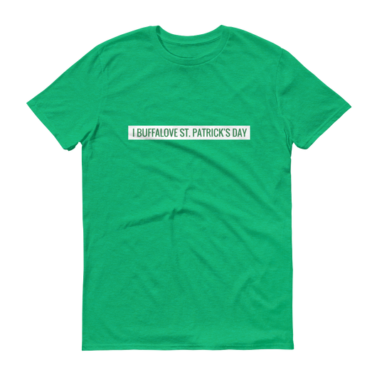 I Buffalove St. Patrick's Day Short-Sleeve T-Shirt