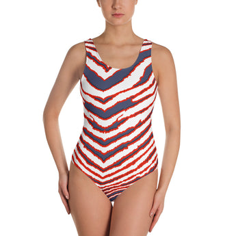 Let's Go Buffalo One-Piece Swimsuit