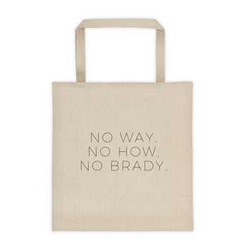 No Brady Tote bag