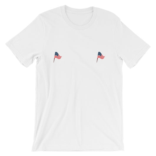 Flag Tatas Short-Sleeve Unisex T-Shirt