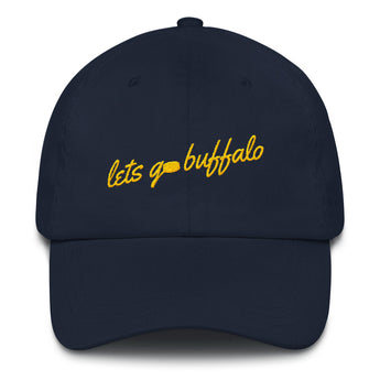 Let's Go Buffalo with Puck Dad hat