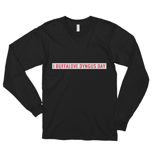 I Buffalove Dyngus Day Long sleeve t-shirt (unisex)